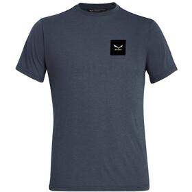 SALEWA Small Box Dri-Release T-shirt Homme, ombre blue melange